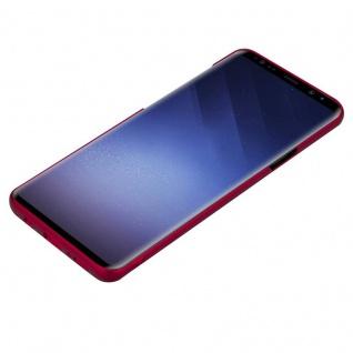 Cadorabo Hülle für Samsung Galaxy S9 PLUS in METALL ROT - Hardcase Handyhülle aus Plastik gegen Kratzer und Stöße - Schutzhülle Bumper Ultra Slim Back Case Hard Cover - Vorschau 3