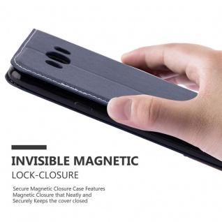 Cadorabo Hülle für Samsung Galaxy J7 2016 in BLAU BRAUN ? Handyhülle mit Magnetverschluss, Standfunktion und Kartenfach ? Case Cover Schutzhülle Etui Tasche Book Klapp Style - Vorschau 5