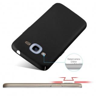 Cadorabo Hülle für Samsung Galaxy J2 2016 in METALL SCHWARZ ? Hardcase Handyhülle aus Plastik gegen Kratzer und Stöße ? Schutzhülle Bumper Ultra Slim Back Case Hard Cover - Vorschau 4