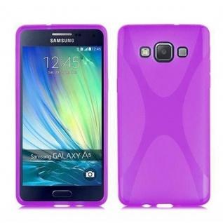 Cadorabo Hülle für Samsung Galaxy A7 2015 in FLIEDER VIOLETT ? Handyhülle aus flexiblem TPU Silikon ? Silikonhülle Schutzhülle Ultra Slim Soft Back Cover Case Bumper