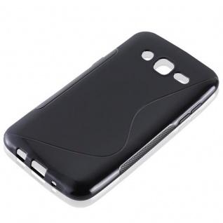 Cadorabo Hülle für Samsung Galaxy J5 2015 in OXID SCHWARZ ? Handyhülle aus flexiblem TPU Silikon ? Silikonhülle Schutzhülle Ultra Slim Soft Back Cover Case Bumper - Vorschau 4