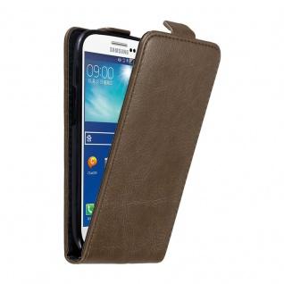 Cadorabo Hülle für Samsung Galaxy S3 / S3 NEO in KAFFEE BRAUN - Handyhülle im Flip Design mit unsichtbarem Magnetverschluss - Case Cover Schutzhülle Etui Tasche Book Klapp Style