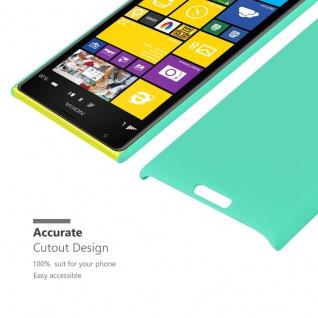 Cadorabo Hülle für Nokia Lumia 1520 in FROSTY GRÜN - Hardcase Handyhülle aus Plastik gegen Kratzer und Stöße - Schutzhülle Bumper Ultra Slim Back Case Hard Cover - Vorschau 5
