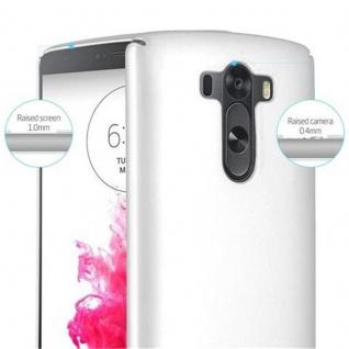 Cadorabo Hülle für LG G3 in METALL SILBER - Hardcase Handyhülle aus Plastik gegen Kratzer und Stöße - Schutzhülle Bumper Ultra Slim Back Case Hard Cover - Vorschau 5