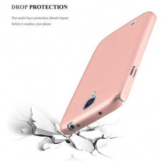 Cadorabo Hülle für Samsung Galaxy S4 in METALL ROSE GOLD - Hardcase Handyhülle aus Plastik gegen Kratzer und Stöße - Schutzhülle Bumper Ultra Slim Back Case Hard Cover - Vorschau 5