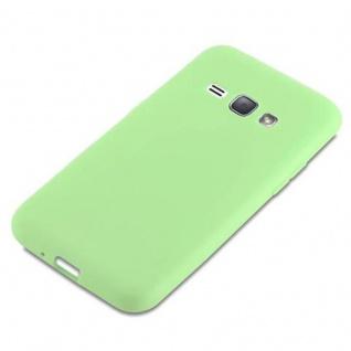 Cadorabo Hülle für Samsung Galaxy J1 2016 in CANDY PASTELL GRÜN - Handyhülle aus flexiblem TPU Silikon - Silikonhülle Schutzhülle Ultra Slim Soft Back Cover Case Bumper - Vorschau 4