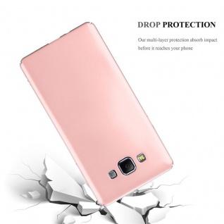 Cadorabo Hülle für Samsung Galaxy A7 2015 in METALL ROSÉ GOLD ? Hardcase Handyhülle aus Plastik gegen Kratzer und Stöße ? Schutzhülle Bumper Ultra Slim Back Case Hard Cover - Vorschau 3