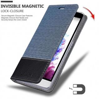 Cadorabo Hülle für LG G3 MINI / G3S in DUNKEL BLAU SCHWARZ - Handyhülle mit Magnetverschluss, Standfunktion und Kartenfach - Case Cover Schutzhülle Etui Tasche Book Klapp Style - Vorschau 3