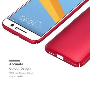 Cadorabo Hülle für HTC 10 (One M10) in METALL ROT ? Hardcase Handyhülle aus Plastik gegen Kratzer und Stöße ? Schutzhülle Bumper Ultra Slim Back Case Hard Cover - Vorschau 5
