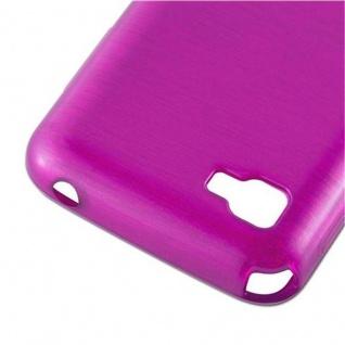Cadorabo Hülle für LG L4 II (2.Gen E740) in PINK - Handyhülle aus flexiblem TPU Silikon - Silikonhülle Schutzhülle Ultra Slim Soft Back Cover Case Bumper - Vorschau 4