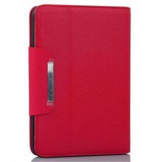 Cadorabo Hülle für Kindl Fire HD (7.0 Zoll) - Hülle in FUCHSIA PINK - Schutzhülle mit Standfunktion und Kartenfach - Book Style Etui Bumper Case Cover - Vorschau 2