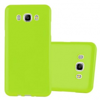 Cadorabo Hülle für Samsung Galaxy J5 2015 in JELLY GRÜN ? Handyhülle aus flexiblem TPU Silikon ? Silikonhülle Schutzhülle Ultra Slim Soft Back Cover Case Bumper
