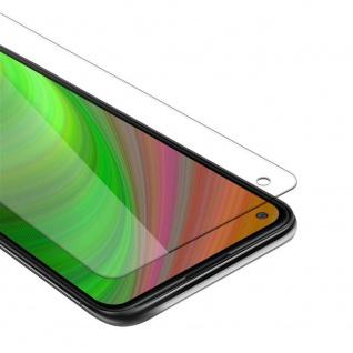 Cadorabo Panzer Folie für Samsung Galaxy A11 Schutzfolie in KRISTALL KLAR Gehärtetes (Tempered) Display-Schutzglas in 9H Härte mit 3D Touch Kompatibilität