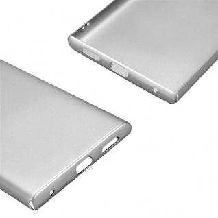 Cadorabo Hülle für Sony Xperia L1 in METALL SILBER - Hardcase Handyhülle aus Plastik gegen Kratzer und Stöße - Schutzhülle Bumper Ultra Slim Back Case Hard Cover - Vorschau 5