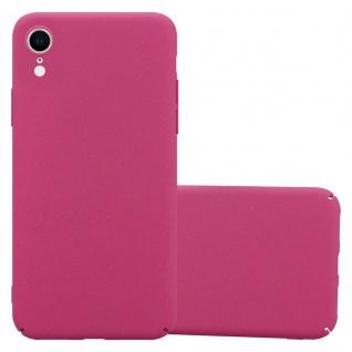 Cadorabo Hülle für Apple iPhone XR in FROSTY PINK - Hardcase Handyhülle aus Plastik gegen Kratzer und Stöße - Schutzhülle Bumper Ultra Slim Back Case Hard Cover