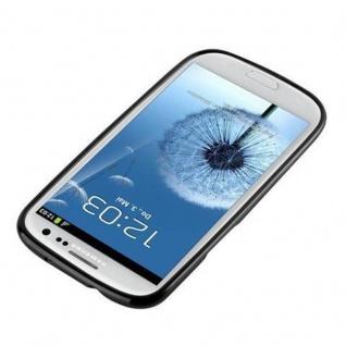 Cadorabo Hülle für Samsung Galaxy S3 / S3 NEO in JELLY SCHWARZ ? Handyhülle aus flexiblem TPU Silikon ? Silikonhülle Schutzhülle Ultra Slim Soft Back Cover Case Bumper - Vorschau 2