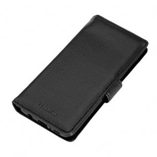 Cadorabo Hülle für Samsung Galaxy S9 in OXID SCHWARZ ? Handyhülle mit Magnetverschluss und 3 Kartenfächern ? Case Cover Schutzhülle Etui Tasche Book Klapp Style - Vorschau 4