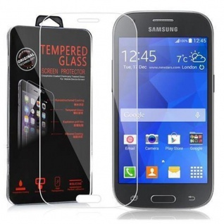 Cadorabo Panzer Folie für Samsung Galaxy ACE STYLE - Schutzfolie in KRISTALL KLAR - Gehärtetes (Tempered) Display-Schutzglas in 9H Härte mit 3D Touch Kompatibilität