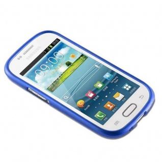 Cadorabo Hülle für Samsung Galaxy S3 MINI in BLAU - Handyhülle aus flexiblem TPU Silikon - Silikonhülle Schutzhülle Ultra Slim Soft Back Cover Case Bumper - Vorschau 2