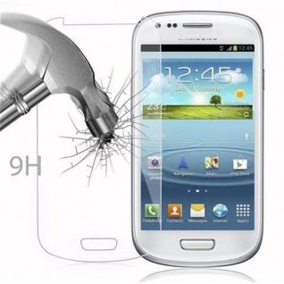 Cadorabo Panzer Folie für Samsung Galaxy S3 MINI - Schutzfolie in KRISTALL KLAR - Gehärtetes (Tempered) Display-Schutzglas in 9H Härte mit 3D Touch Kompatibilität - Vorschau 3