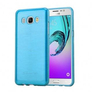 Cadorabo Hülle für Samsung Galaxy J5 2016 in TÜRKIS - Handyhülle aus flexiblem TPU Silikon - Silikonhülle Schutzhülle Ultra Slim Soft Back Cover Case Bumper