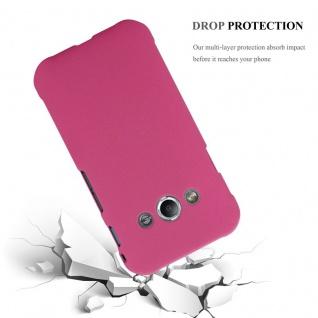 Cadorabo Hülle für Samsung Galaxy XCover 3 in FROSTY PINK - Hardcase Handyhülle aus Plastik gegen Kratzer und Stöße - Schutzhülle Bumper Ultra Slim Back Case Hard Cover - Vorschau 3