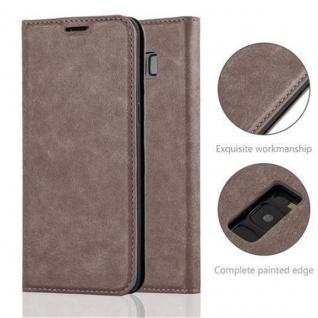 Cadorabo Hülle für Samsung Galaxy S8 PLUS in KAFFEE BRAUN - Handyhülle mit Magnetverschluss, Standfunktion und Kartenfach - Case Cover Schutzhülle Etui Tasche Book Klapp Style - Vorschau 2