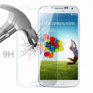 Cadorabo Panzer Folie für Samsung Galaxy S4 - Schutzfolie in KRISTALL KLAR - Gehärtetes (Tempered) Display-Schutzglas in 9H Härte mit 3D Touch Kompatibilität - Vorschau 3