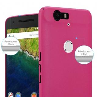 Cadorabo Hülle für Huawei NEXUS 6P in FROSTY PINK - Hardcase Handyhülle aus Plastik gegen Kratzer und Stöße - Schutzhülle Bumper Ultra Slim Back Case Hard Cover - Vorschau 3
