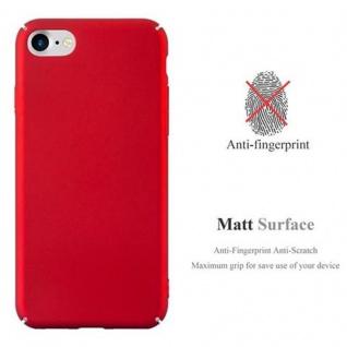 Cadorabo Hülle für Apple iPhone 7 / iPhone 7S / iPhone 8 in METALL ROT - Hardcase Handyhülle aus Plastik gegen Kratzer und Stöße - Schutzhülle Bumper Ultra Slim Back Case Hard Cover - Vorschau 2