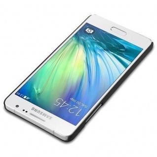 Cadorabo Hülle für Samsung Galaxy A5 2015 in WOODY SCHWARZ - Hardcase Handyhülle aus Plastik gegen Kratzer und Stöße - Schutzhülle Bumper Ultra Slim Back Case Hard Cover - Vorschau 2