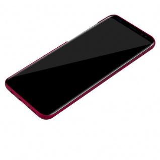 Cadorabo Hülle für Samsung Galaxy S8 PLUS in METALL ROT - Hardcase Handyhülle aus Plastik gegen Kratzer und Stöße - Schutzhülle Bumper Ultra Slim Back Case Hard Cover - Vorschau 3