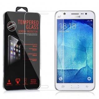Cadorabo Panzer Folie für Samsung Galaxy J5 - Schutzfolie in KRISTALL KLAR - Gehärtetes (Tempered) Display-Schutzglas in 9H Härte mit 3D Touch Kompatibilität