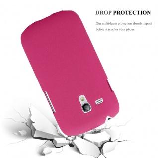 Cadorabo Hülle für Samsung Galaxy S3 MINI in FROSTY PINK - Hardcase Handyhülle aus Plastik gegen Kratzer und Stöße - Schutzhülle Bumper Ultra Slim Back Case Hard Cover - Vorschau 4