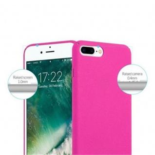 Cadorabo Hülle für Apple iPhone 8 PLUS / iPhone 7 PLUS / iPhone 7S PLUS in FROSTY PINK - Hardcase Handyhülle aus Plastik gegen Kratzer und Stöße - Schutzhülle Bumper Ultra Slim Back Case Hard Cover - Vorschau 3