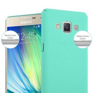 Cadorabo Hülle für Samsung Galaxy A3 2015 in FROSTY GRÜN - Hardcase Handyhülle aus Plastik gegen Kratzer und Stöße - Schutzhülle Bumper Ultra Slim Back Case Hard Cover - Vorschau 5