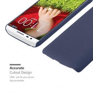 Cadorabo Hülle für LG G2 MINI in FROSTY BLAU - Hardcase Handyhülle aus Plastik gegen Kratzer und Stöße - Schutzhülle Bumper Ultra Slim Back Case Hard Cover - Vorschau 5