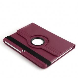 """Cadorabo ! PREMIUM - Samsung Galaxy Tab 4 - 10.1 ZOLL (T530 T535) Schutzhülle mit Standfunktion Drehbar 360 Grad Design """" 360°"""" in lila - Vorschau 3"""