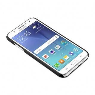 Samsung Galaxy J7 2015 Hardcase Hülle in SCHWARZ von Cadorabo - Blumen Paisley Henna Design Schutzhülle ? Handyhülle Bumper Back Case Cover - Vorschau 2