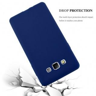 Cadorabo Hülle für Samsung Galaxy A7 2015 in CANDY DUNKEL BLAU - Handyhülle aus flexiblem TPU Silikon - Silikonhülle Schutzhülle Ultra Slim Soft Back Cover Case Bumper - Vorschau 4