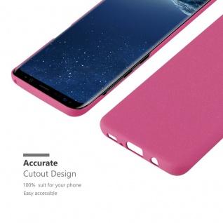 Cadorabo Hülle für Samsung Galaxy S8 in FROSTY PINK - Hardcase Handyhülle aus Plastik gegen Kratzer und Stöße - Schutzhülle Bumper Ultra Slim Back Case Hard Cover - Vorschau 5