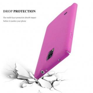 Cadorabo Hülle für Samsung Galaxy NOTE 4 in FROSTY PINK - Hardcase Handyhülle aus Plastik gegen Kratzer und Stöße - Schutzhülle Bumper Ultra Slim Back Case Hard Cover - Vorschau 3