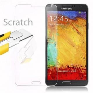 Cadorabo Panzer Folie für Samsung Galaxy NOTE 3 Schutzfolie in KRISTALL KLAR Gehärtetes (Tempered) Display-Schutzglas in 9H Härte mit 3D Touch Kompatibilität - Vorschau 2