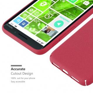 Cadorabo Hülle für Nokia Lumia 930 in FROSTY ROT - Hardcase Handyhülle aus Plastik gegen Kratzer und Stöße - Schutzhülle Bumper Ultra Slim Back Case Hard Cover - Vorschau 5