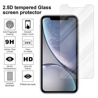 Cadorabo Panzer Folie für Apple iPhone XR - Schutzfolie in KRISTALL KLAR - Gehärtetes (Tempered) Display-Schutzglas in 9H Härte mit 3D Touch Kompatibilität - Vorschau 4