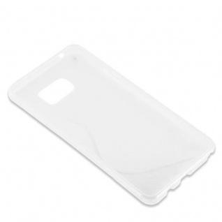 Cadorabo Hülle für Samsung Galaxy NOTE 5 in HALB TRANSPARENT ? Handyhülle aus flexiblem TPU Silikon ? Silikonhülle Schutzhülle Ultra Slim Soft Back Cover Case Bumper - Vorschau 3
