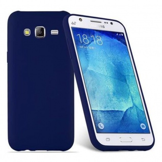 Cadorabo Hülle für Samsung Galaxy J5 2015 in CANDY DUNKEL BLAU - Handyhülle aus flexiblem TPU Silikon - Silikonhülle Schutzhülle Ultra Slim Soft Back Cover Case Bumper - Vorschau 2