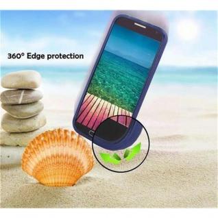 Cadorabo Hülle für Samsung Galaxy S6 in CANDY DUNKEL BLAU - Handyhülle aus flexiblem TPU Silikon - Silikonhülle Schutzhülle Ultra Slim Soft Back Cover Case Bumper - Vorschau 5