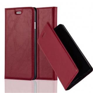 Cadorabo Hülle für Apple iPhone 6 PLUS / iPhone 6S PLUS in APFEL ROT - Handyhülle mit Magnetverschluss, Standfunktion und Kartenfach - Case Cover Schutzhülle Etui Tasche Book Klapp Style - Vorschau 1