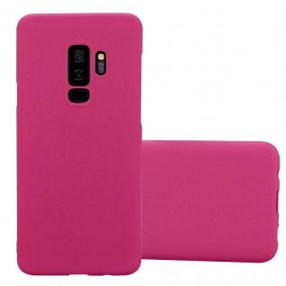 Cadorabo Hülle für Samsung Galaxy S9 PLUS in FROSTY PINK - Hardcase Handyhülle aus Plastik gegen Kratzer und Stöße - Schutzhülle Bumper Ultra Slim Back Case Hard Cover